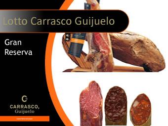 Lotto Prosciutto Carrasco Guijuelo